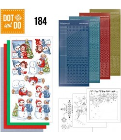 KIT 3D DOT BUBBLY GIRLS CHRISTMAS - 184
