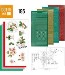 KIT 3D DOT CHRISTMAS FLOWERS - 185