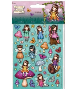 STICKERS GORJUSS X 84 FAERIE FOLK