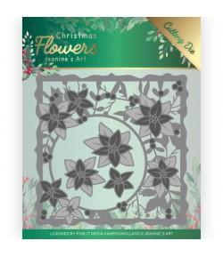 DIES FLOWERS CHRISTMAS POINSETTIA - JAD10102