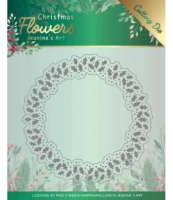 DIE CHRISTMAS FLOWERS - JAD10103