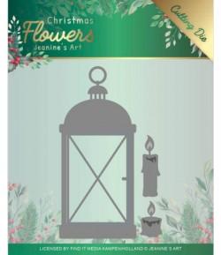 DIES CHRISTMAS FLOWERS  LANTERN - JAD10104