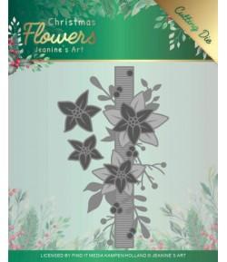 DIES CHRISTMAS FLOWERS POINSETTIAS - JAD10105
