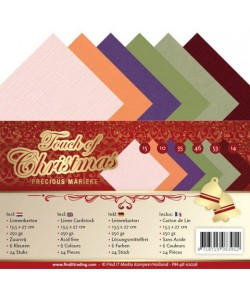 24 FEUILLES A5 250GR - TOUCH OF CHRISTMAS 10026