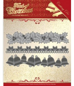 DIE TOUCH OF CHRISTMAS BELLS BORDER  - PM10184
