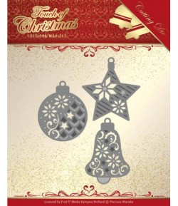 DIES TOUCH OF CHRISTMAS BORDERS - PM10185