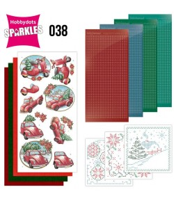 KIT 3D DOT SPARKLES CHRISTMAS VILLAGE - 38