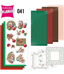KIT 3D DOT SPARKLES CHRISTMAS PETS - 41