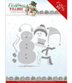 DIES CHRISTMAS VILLAGE -  YCD10208
