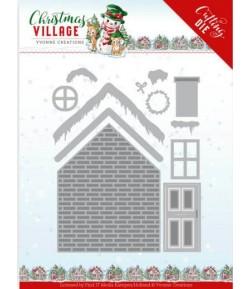 DIES CHRISTMAS VILLAGE -  YCD10209