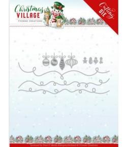 DIE CHRISTMAS VILLAGE -  YCD10212