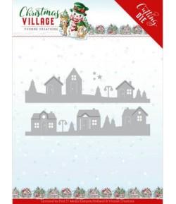 DIES CHRISTMAS VILLAGE -  YCD10213