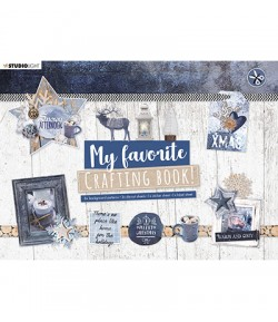 BLOC A4 CRAFTING BOOK  SNOWY AFTERNOON - STUDIOLIGHT