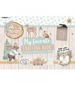 BLOC A4 CRAFTING BOOK  CHRISTMAS FEELING - STUDIOLIGHT