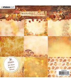 BLOC 15 x 15 CM  WINTER FEELINGS - PPWF89