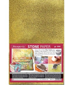 STONE PAPER OR 21 X 29.7 - 300G DFPCA4G STAMPERIA