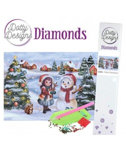 KIT DIAMOND WINTER WONDERLAND 29.7X42CM