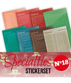 LOT 8 STICKERS SPECIALTIES - N°18