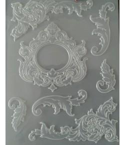 MOULE PVC FLEXIBLE - CADRES K3PTA515