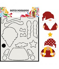 GABARIT PERE NOEL  - DUTCH DOOBADOO (815)