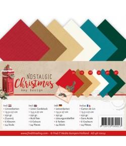 24 CARTES 13.5X27 NOSTALGIC CHRISTMAS