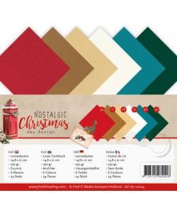 24 FEUILLES A5 250GR - NOSTALGIC CHRISTMAS 10024