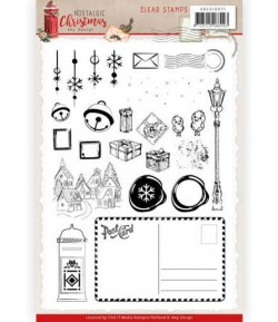 TAMPONS CLEAR NOSTALGIC CHRISTMAS AMY DESIGN ADCS10071