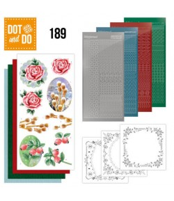 KIT 3D DOT WINTER FLOWERS - 189