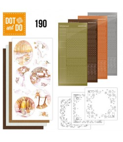 KIT 3D DOT YELLOW FOREST - 190