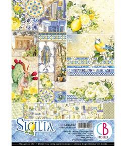 BLOC 9 FEUILLES SICILIA CIAO BELLA A4 CBCL033