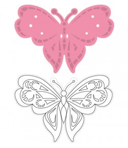 DIES COLLECTABLES PAPILLON - COL1318