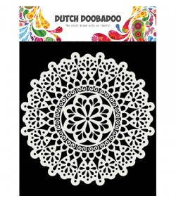 POCHOIR  MANDALA - DUTCH DOOBADOO
