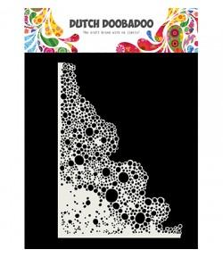 POCHOIR  BULLES - DUTCH DOOBADOO