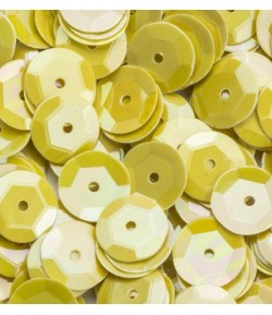 SEQUINS 6MM JAUNE  - 12 GR