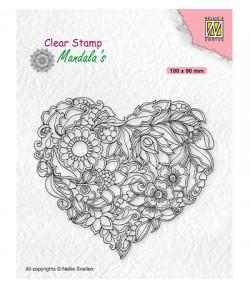 TAMPON FLOWER HEART - CSMAN001