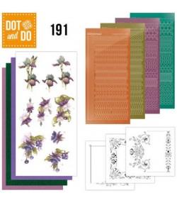 KIT 3D DOT FLEURS DODO191