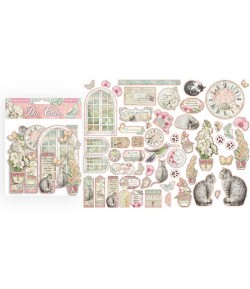 FORMES CARTON - DIE CUTS ORCHIDS AND CATS - DFLDC26