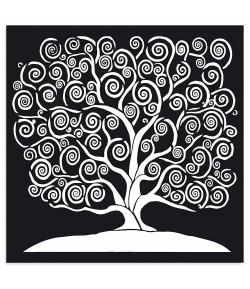 POCHOIR TREE OF LIFE 30X30 EP 0.25 KSTDG05