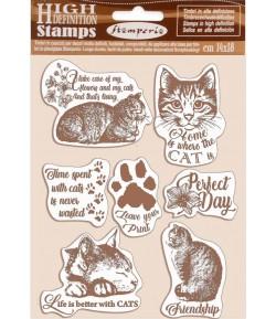 TAMPONS HD CATS 14X18CM  WTKCC188