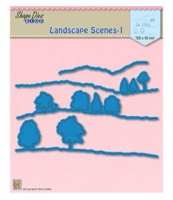DIE BLUE LANDSCAPE SCENES