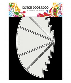 GABARIT SAPIN CARD - DUTCH DOOBADOO (340)