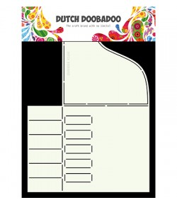 GABARIT PIANO CARD - DUTCH DOOBADOO (677)