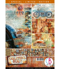 BLOC 9 FEUILLES COLLATERAL RUST CIAO BELLA A4 CBCLE026