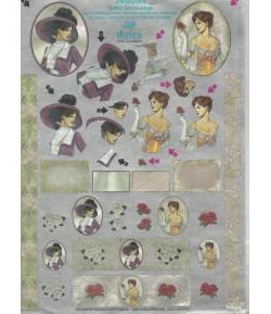FEUILLE 3D FEMMES DU248750
