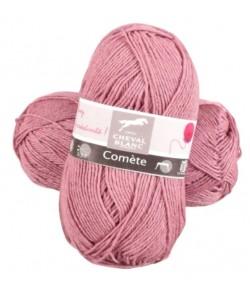 LAINE COMETE VIEUX ROSE (056)