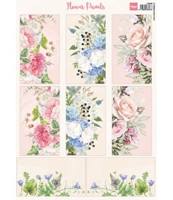 FEUILLE  FLOWER PANELS - VK9592 - MARIANNE DESIGN