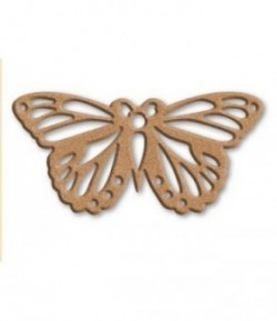 PLAQUE PAPILLON EN MEDIUM 29.1X16.5CM