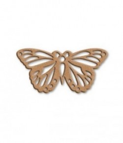 PLAQUE PAPILLON EN MEDIUM 21X11.5CM