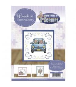 LIVRET CADRES A BRODER ET MOTIFS 3D FUNKY HOBBIES CB10021