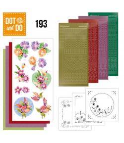KIT 3D DOT FLEURS ET ORCHIDEES - DODO193